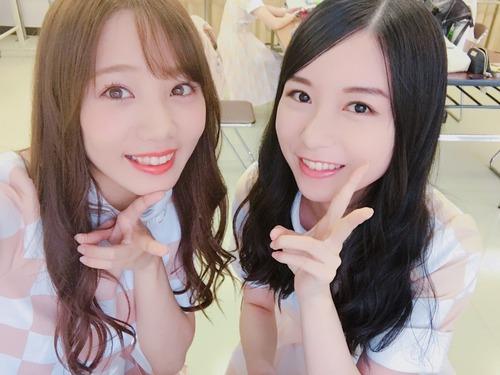 【乃木坂46】初!2ショットwww佐々木琴子があみちゃん先輩と!