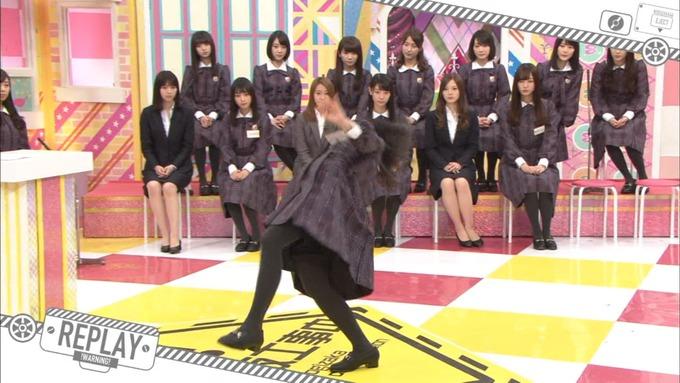 乃木坂工事中 松村沙友理が岩本蓮加を紹介 (101)