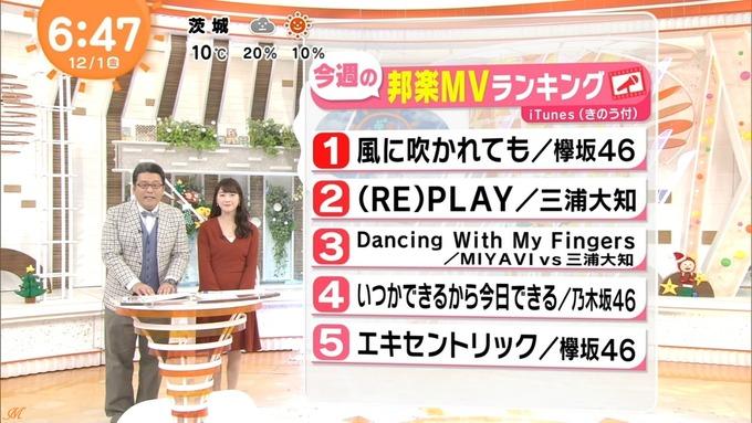 1 めざましテレビ MVランキング (1)
