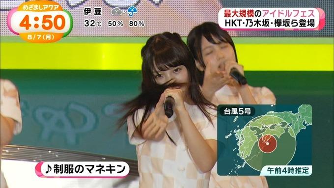 めざましアクア アイドルフェス 乃木坂46 (8)