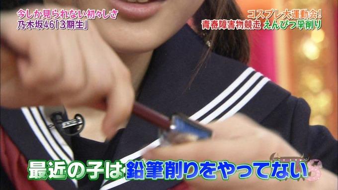 NOGIBINGO8 コスプレ大運動会 山下美月VS与田祐希 (132)