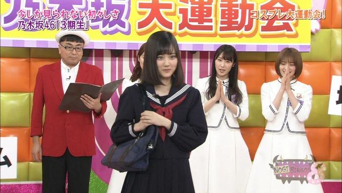 NOGIBINGO8 コスプレ大運動会 山下美月VS与田祐希 (6)