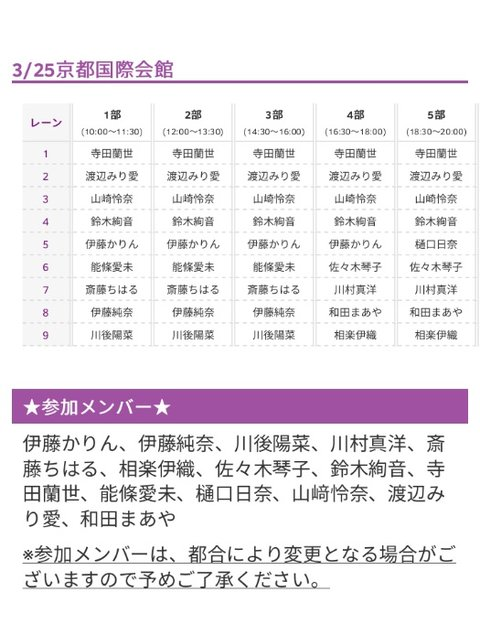 アンダーアルバム 握手会 (2)
