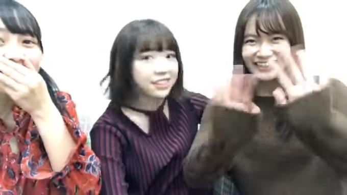 渡辺みり愛 向井葉月 中元日芽香 SR (8)