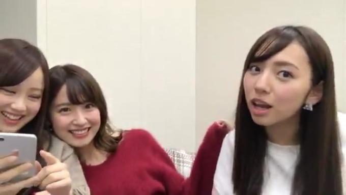 2017,11,27 新内眞衣 衛藤美彩 星野みなみ SR (152)