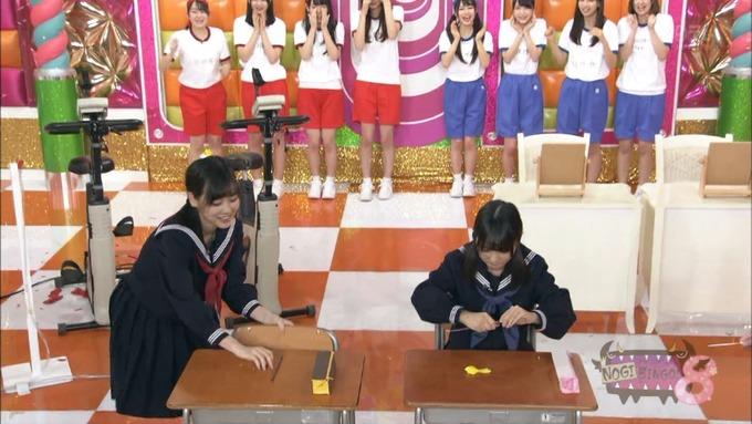 NOGIBINGO8 コスプレ大運動会 山下美月VS与田祐希 (104)
