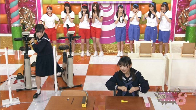 NOGIBINGO8 コスプレ大運動会 山下美月VS与田祐希 (103)