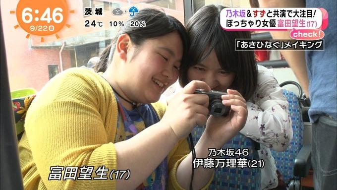 めざましテレビ あさひなぐ 西野七瀬 (1)