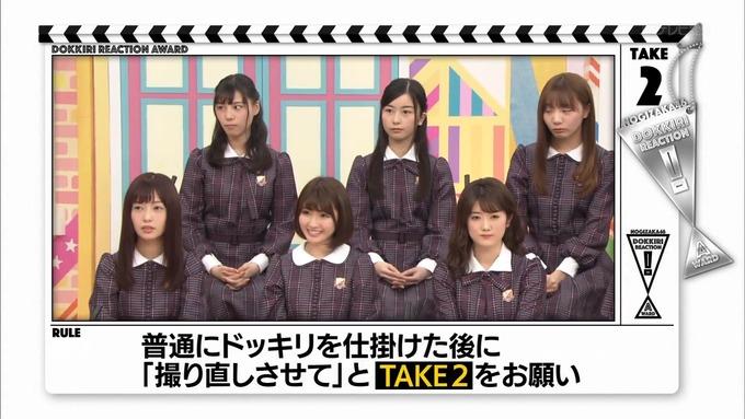 【乃木坂工事中】西野七瀬『ドッキリリアクション大賞』 (8)