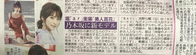 衛藤美彩 堀未央奈 モデル決定