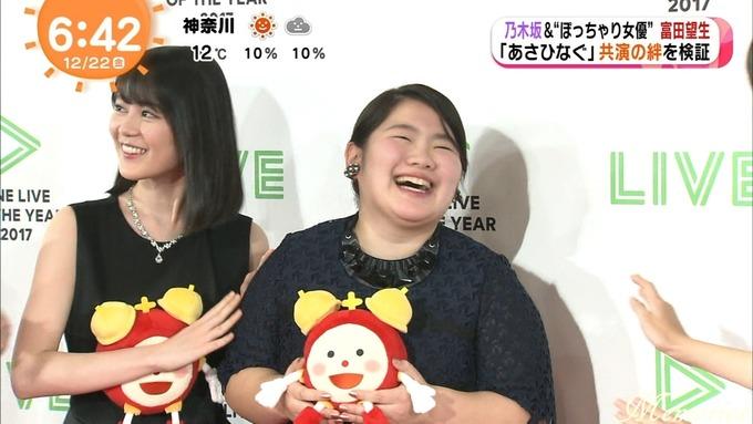 めざましアクア テレビ 生田 松村 桜井 富田 (25)