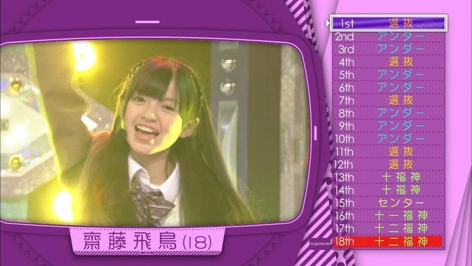 乃木坂工事中 18thシングル選抜 齋藤飛鳥 (4)