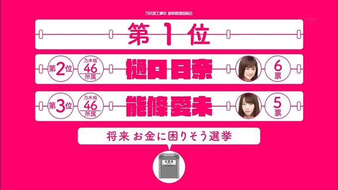 乃木坂工事中 将来こうなってそう総選挙2017⑧ (1)