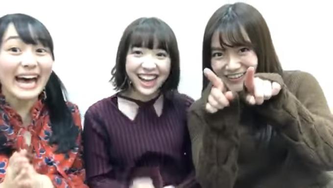 渡辺みり愛 向井葉月 中元日芽香 SR (9)