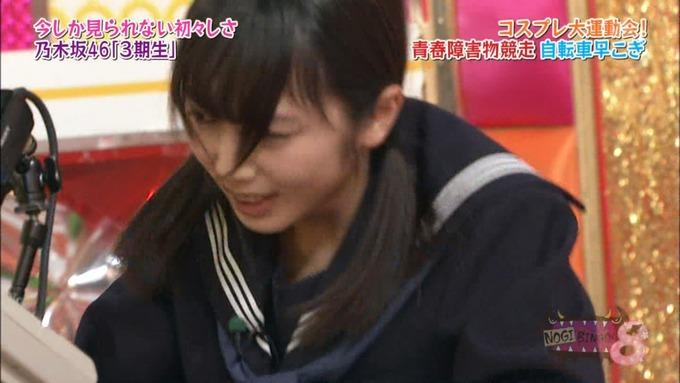 NOGIBINGO8 コスプレ大運動会 山下美月VS与田祐希 (92)