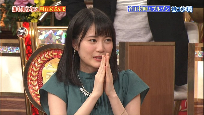 26 誰もしらない明石家さんな 生田絵梨花 (29)