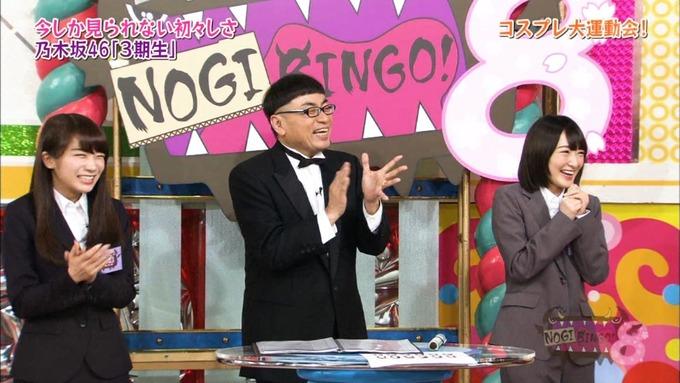 NOGIBINGO8 コスプレ大運動会 山下美月VS与田祐希 (31)