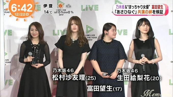 めざましアクア テレビ 生田 松村 桜井 富田 (16)