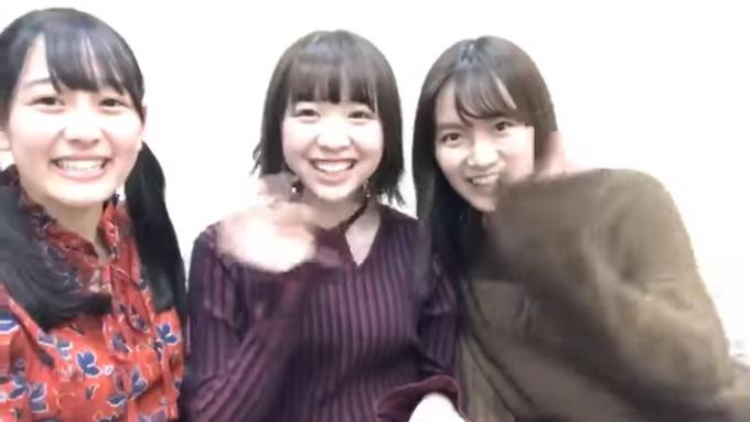 渡辺みり愛 向井葉月 中元日芽香 SR (1)