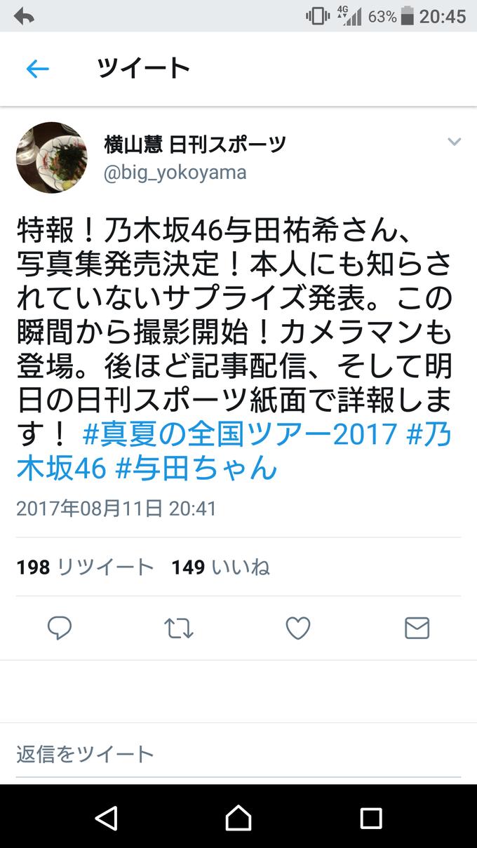 与田祐希 写真集発売決定
