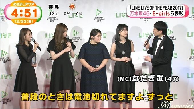 めざましアクア テレビ 生田 松村 桜井 富田 (9)