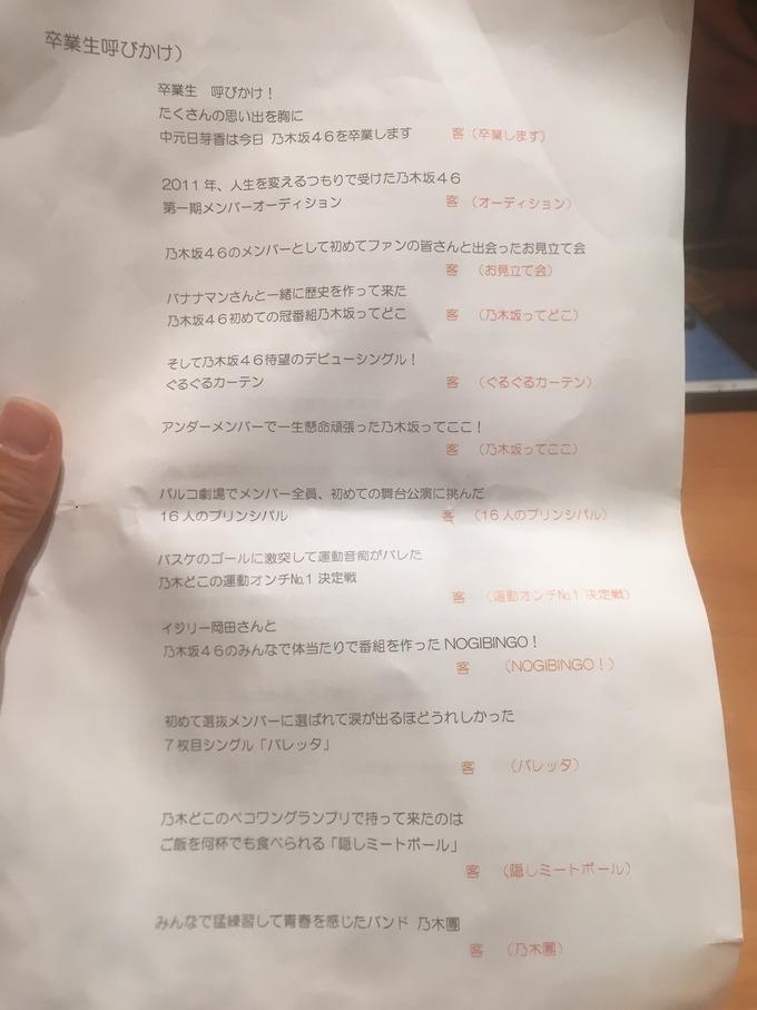 中元日芽香 彼氏イベ セルフ卒業式 (3)