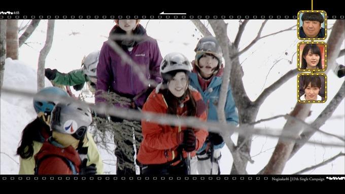 乃木坂工事中『17枚目シングルヒット祈願』氷の滝登り(2)