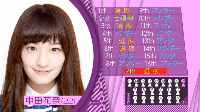 中田花奈 17枚目シングル選抜 (1)