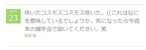 原田 ブログ