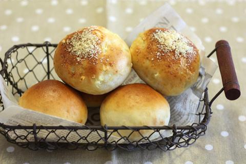 米粉プチパン、米粉オニオンボール
