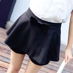 インナー付きミニスカート