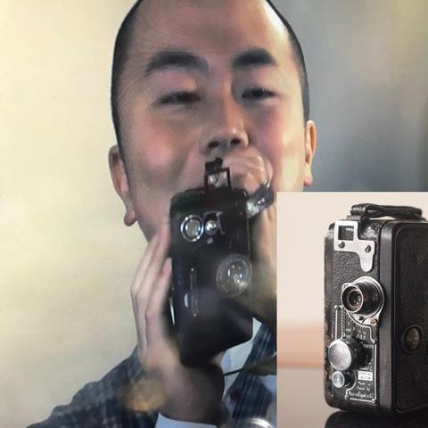戦前のムービーカメラ