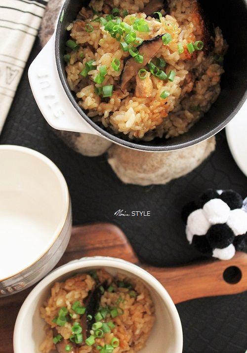 料理・・・キノコの炊き込みご飯1