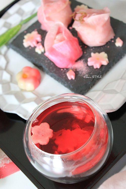 料理・・・・ピーツの手毬寿司&吸い物