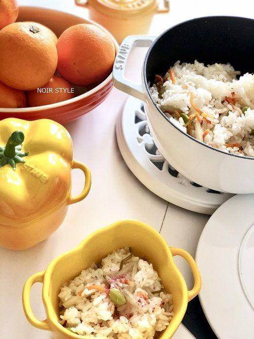 料理・・・桜エビの炊き込みご飯2