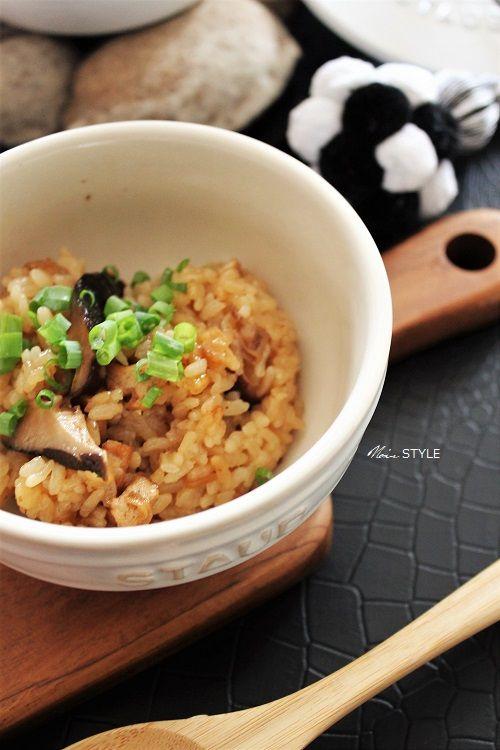 料理・・・キノコの炊き込みご飯2