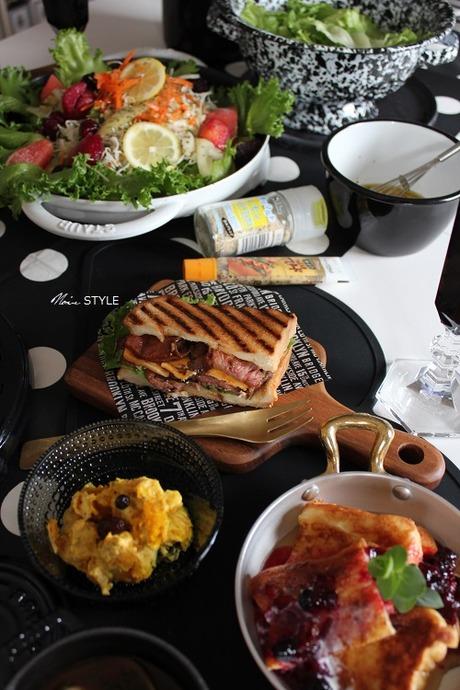 3レシピぐログ・・・トマトスープとローストビーフサンド
