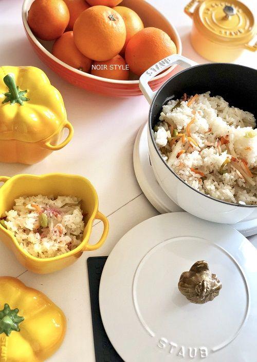 料理・・・桜エビの炊き込みご飯1