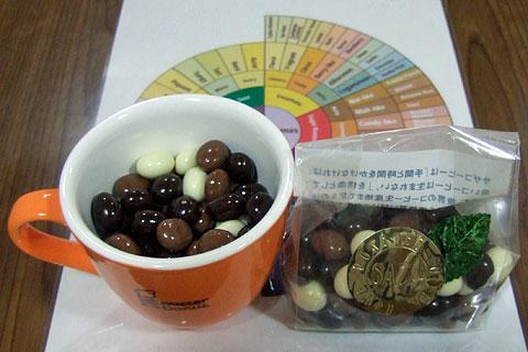 コーヒー豆チョコ