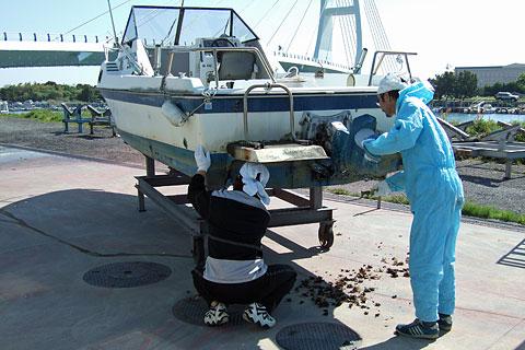 船底掃除b