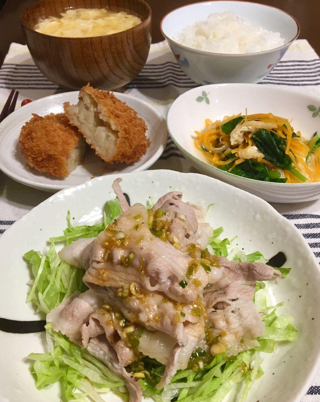 暑い日の晩御飯