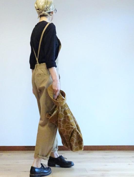 atelier naruseチノサロペット&ユニクロ+J (4)2