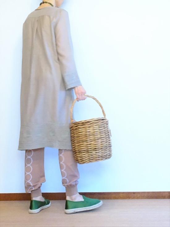 イザベルマラン刺繍カフタン&タンバリンレギンス (3)