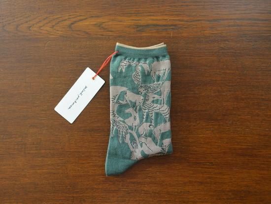 グリーンの靴下 (1)