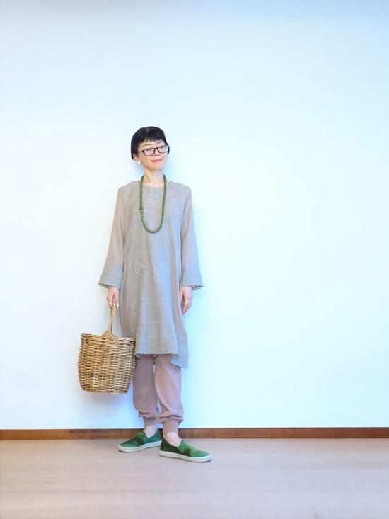 イザベルマラン刺繍カフタン&タンバリンレギンス (8)