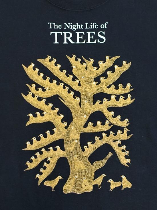 nighat tree黒Tシャツ&家紋傘 (5)