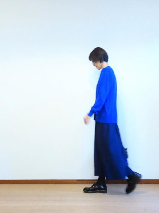 45Rタックドレス&カーデ&ブローチ (1)