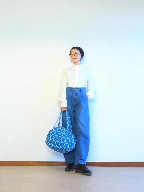 デニムジャケットとタックデニムのデニムオンデニム~ (4)