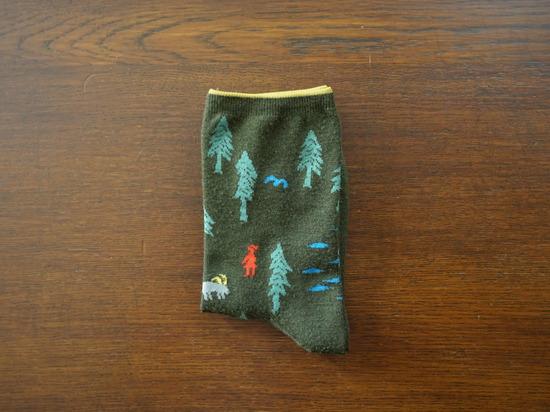 グリーンの靴下 (2)