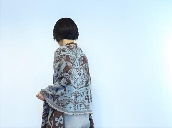 misty lineカットソー&ウールリネンサロペット (2)